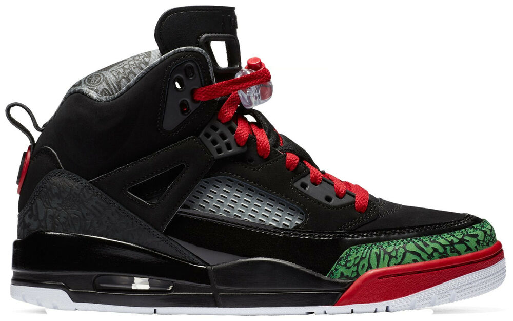 new product 06008 962d0 Details about Nike Men s Air Jordan SPIZIKE Shoes Black Varsity Red  315371-026 b