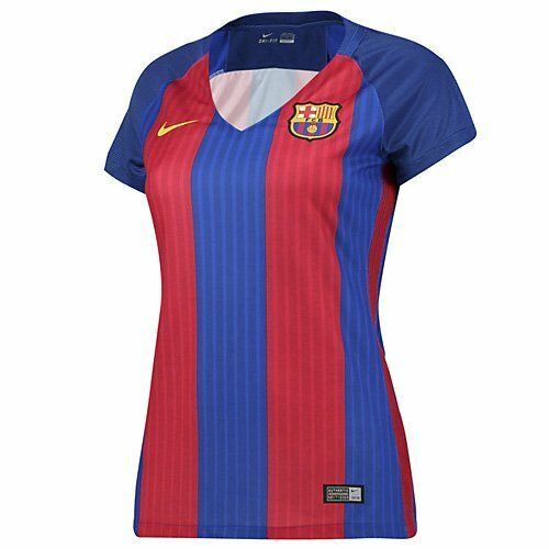 pretty nice ccc5c 1ff2d FC Barcelona Women's Jersey by Nike Authentic Supporter Jersey NWT | eBay