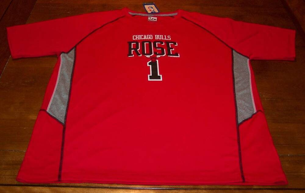 CHICAGO BULLS  1 DERRICK ROSE NBA BASKETBALL JERSEY SHIRT XL NEW w  TAG  2a33bd630