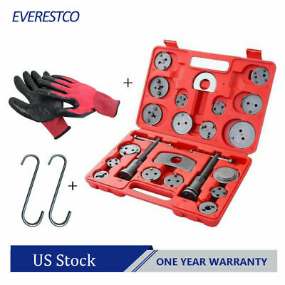 Set(22PCS) Universal Disc Brake Caliper Brake Piston Wind Back Rewind Hand Tools