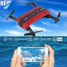 A-FLY Selfie Drone WiFi FPV Altitude Hold HD Camera Phone Control Quadcopter MA