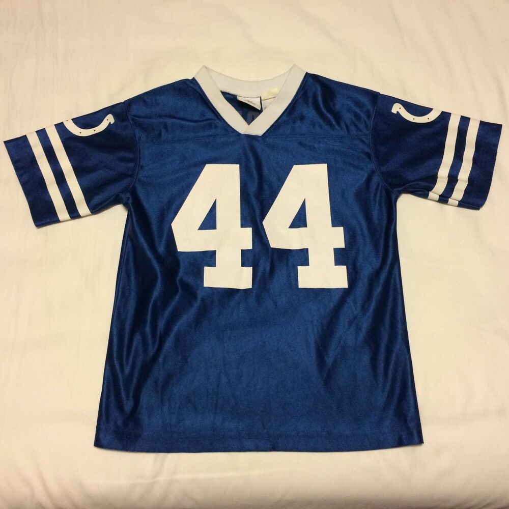 Dallas Clark Indianapolis Colts Youth Jersey Size L 10-12 Blue NFL Team  Apparel  31d77f4d2