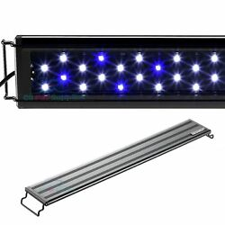 Kyпить AQUANEAT Aquarium LED Light Marine FOWLR Blue & White  12 20 24 30 36 48 Inch на еВаy.соm