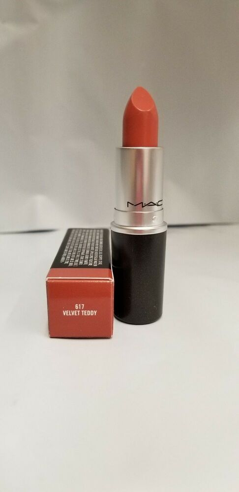 mac matte lipstick 0.1 oz /3 g new in box authentic item - 617