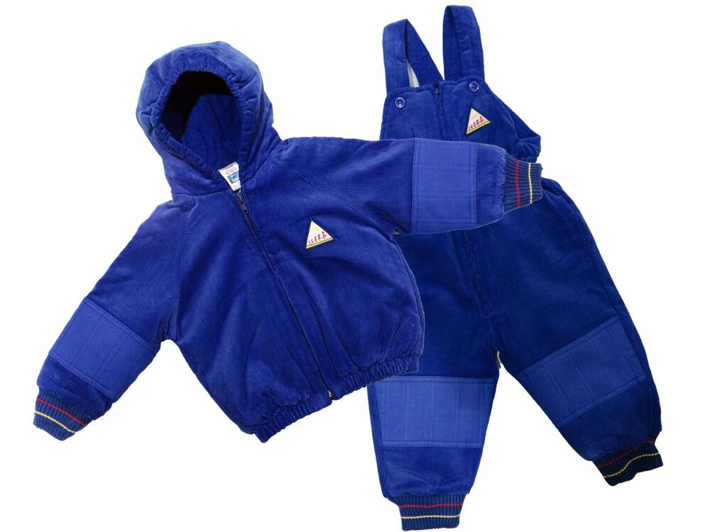 90fa2b499 NEW KIDS HOODED ALL IN ONE PADDED WINTER WARM RAINSUIT SNOW SUIT ...