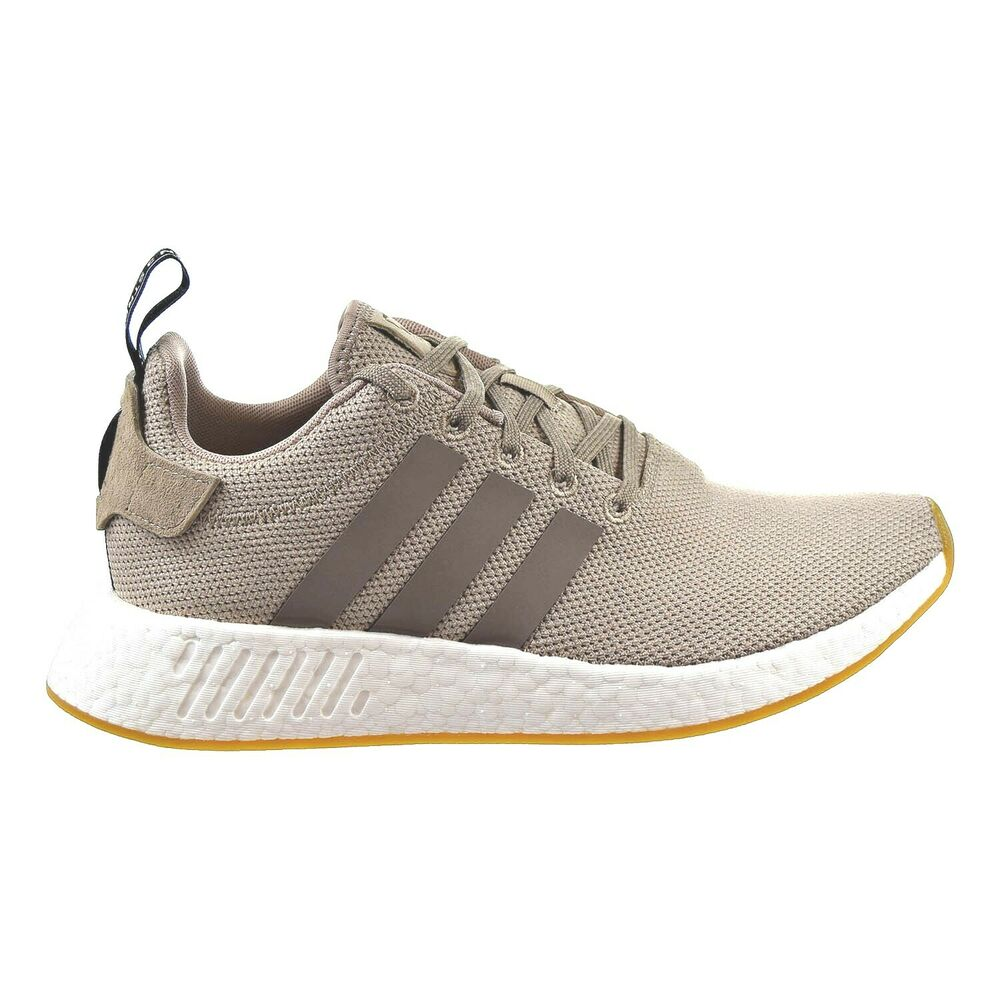 bc635c64fde3 Details about Adidas Originals NMD R2 Men s Shoes Trace Khaki Brown Core  Black BY9916