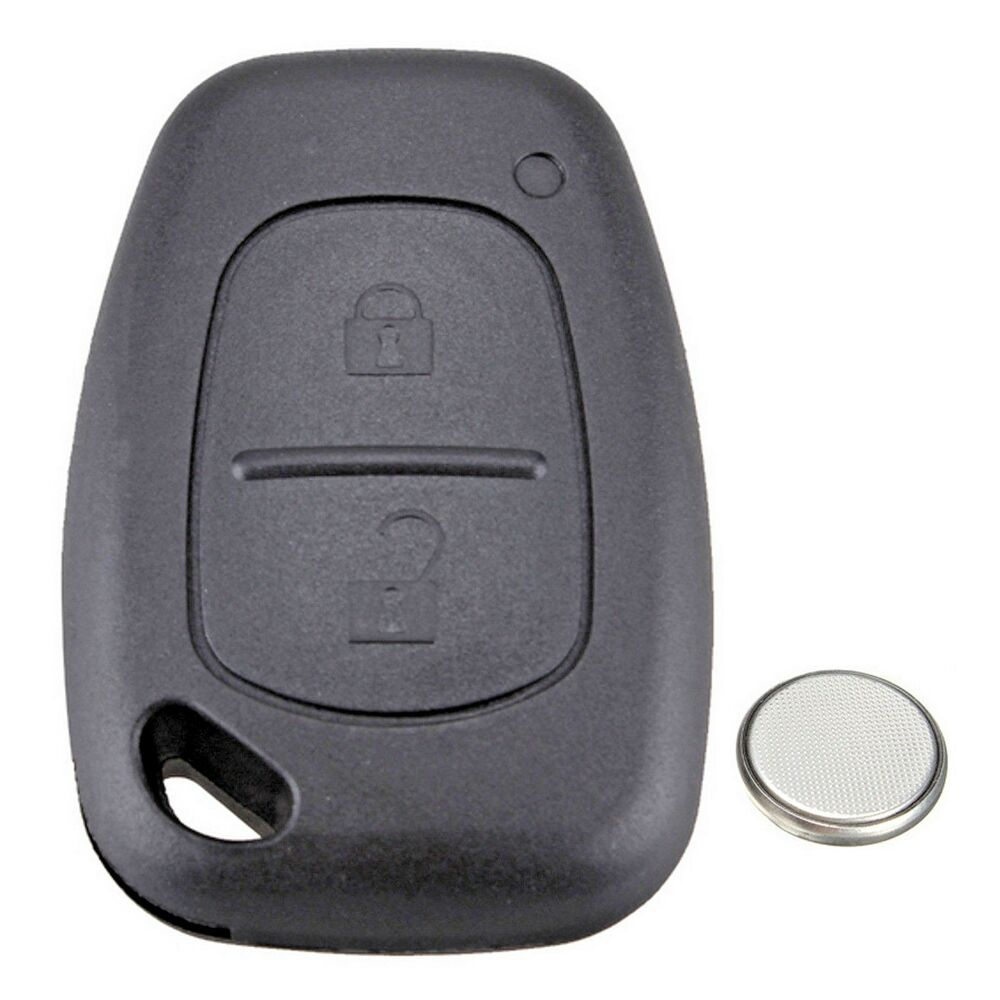 vauxhall opel vivaro movano 2 button remote key fob case. Black Bedroom Furniture Sets. Home Design Ideas