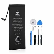 New 2750mAh Battery Replacement With Tools For Apple iPhone 6s Plus 5.5