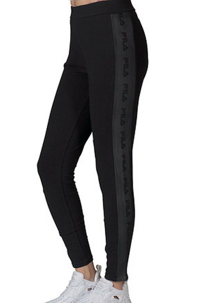 9a280e9252ed Details about Fila Sports Women s LIA TIGHT Leggings Black LW171YD8-001 b