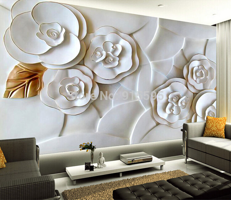 3d wallpaper bedroom mural roll modern luxury embossed for 3d wallpaper for kitchen walls
