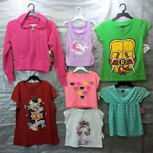 Wholesale Lot Assorted Brand New Children's GIRL Clothing 25 Tops FREE SHIP