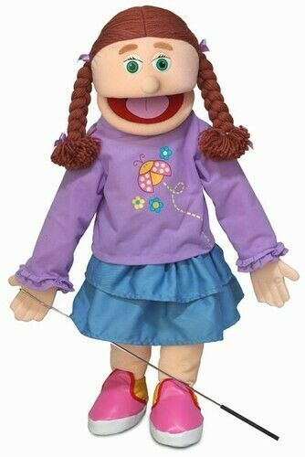 Silly Puppets Amy (Caucasian) 25 inch Full Body Puppet   eBay