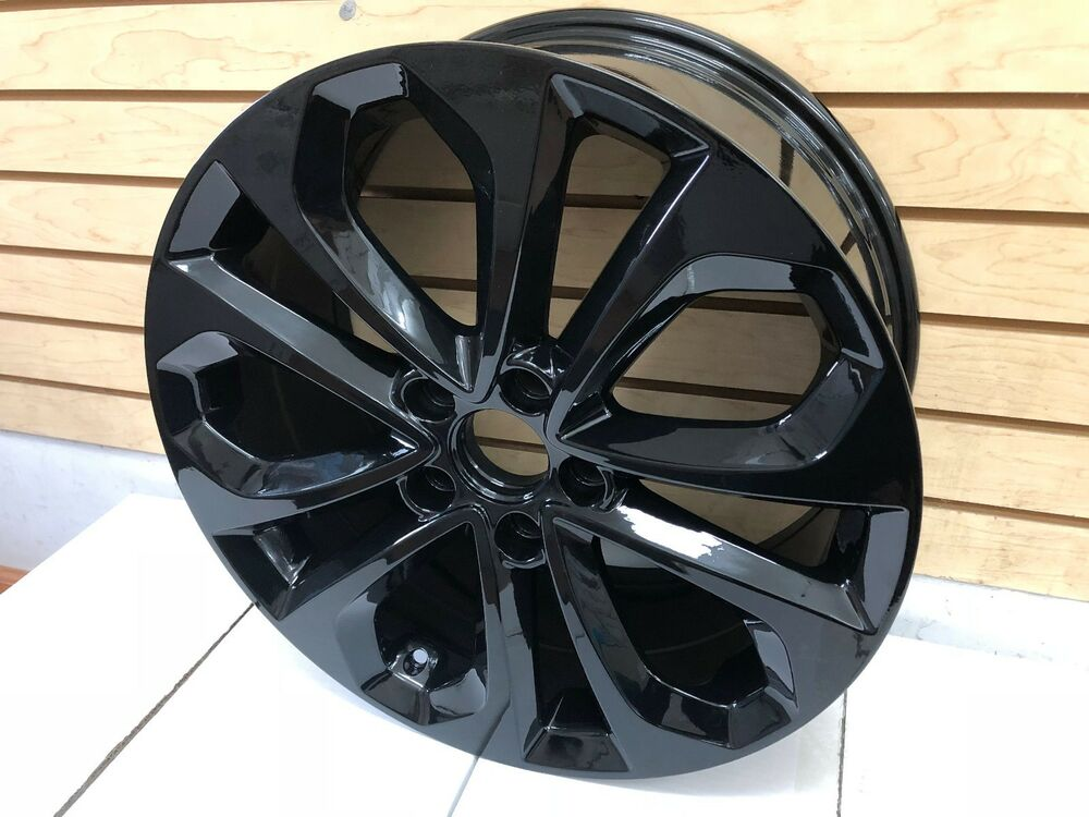 "18"" HFP STYLE SPORT FITS HONDA ACCORD RIMS BRAND NEW ALLOY WHEELS SET (4) Black 619159487909 