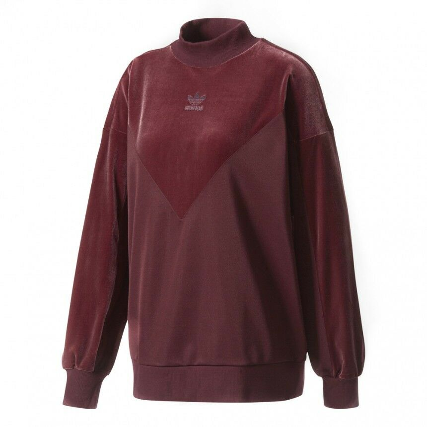adidas originals vibes sweat-shirt en velours