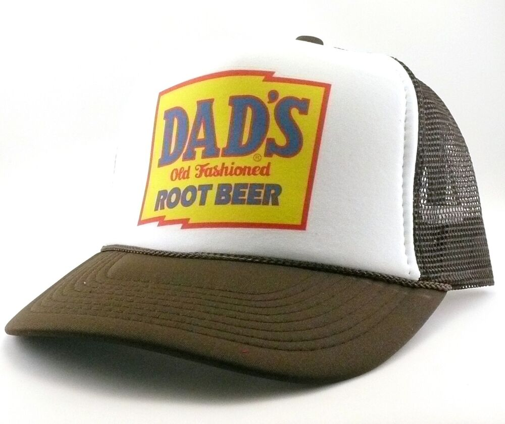 Details about Dad s Root Beer Trucker Hat mesh hat snapback hat brown new  adjustable 8a3c330078b6