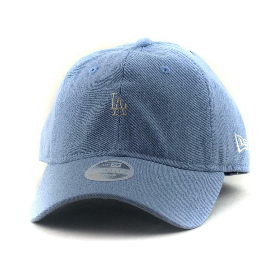 25694dc3 Ladies LA Dodgers New Era MLB Team 9Twenty Hat Baseball Cap In Denim ...