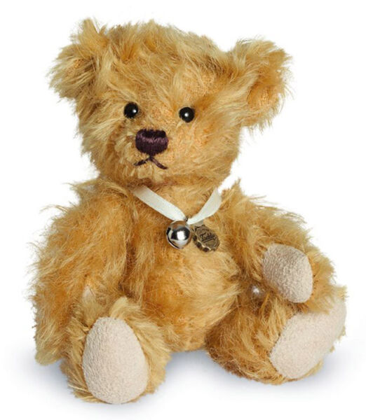 108016 Teddy Hermann Natural Friendly Eco Cotton Baby Mouse Bear 108016