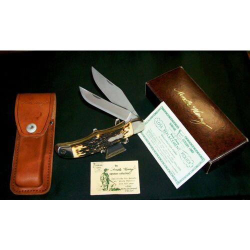 schrade-227uh-knife-serial-98831-uncle-henry-1970s-folding-bowie-wpackaging