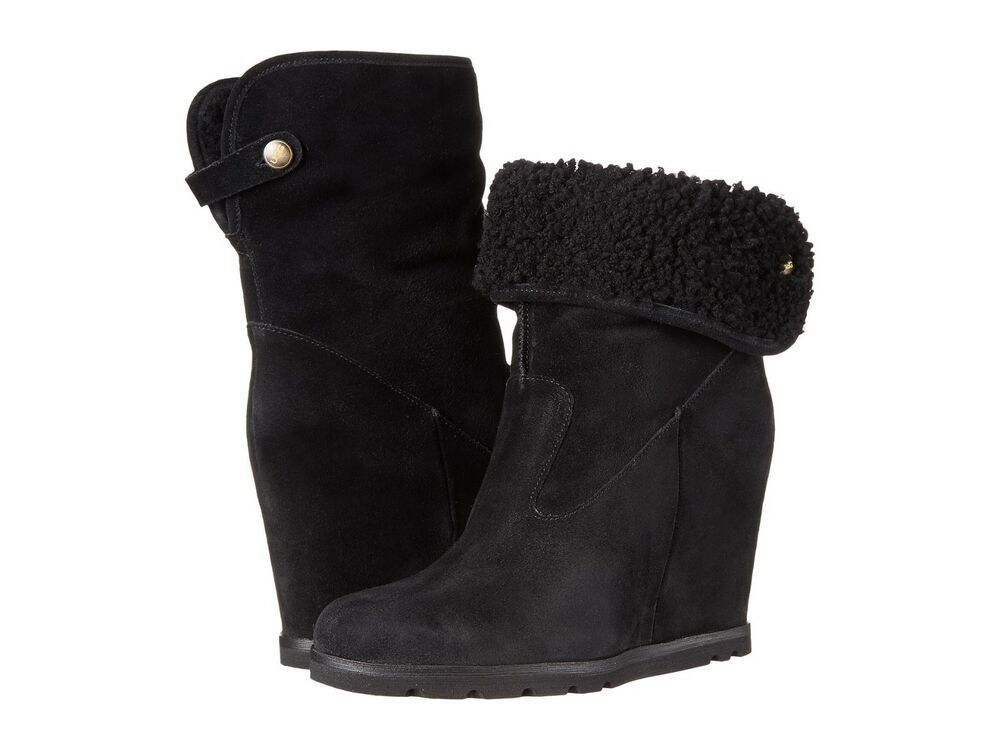 86b731cdd Details about NEW WOMEN BOOT UGG AUSTRALIA W KYRA BLACK 1009318 ORG FREE  SHIPPING