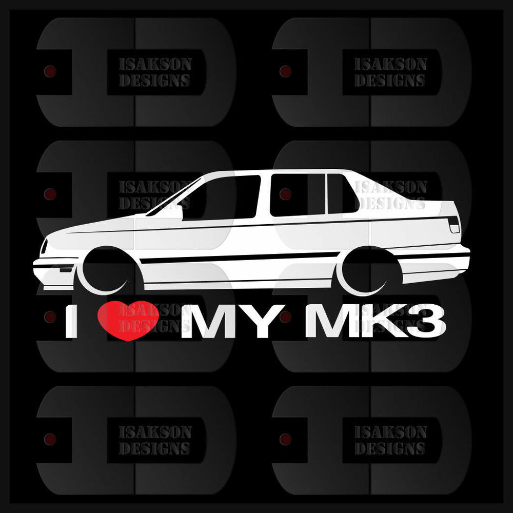 Details about i heart my mk3 sticker love vw volkswagen slammed euro germany jetta vento