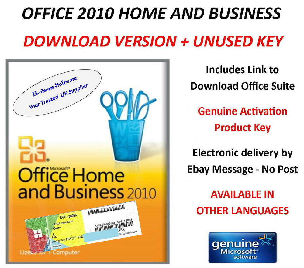 Outstanding Office 2010 Home And Business Key Sketch - Home ...