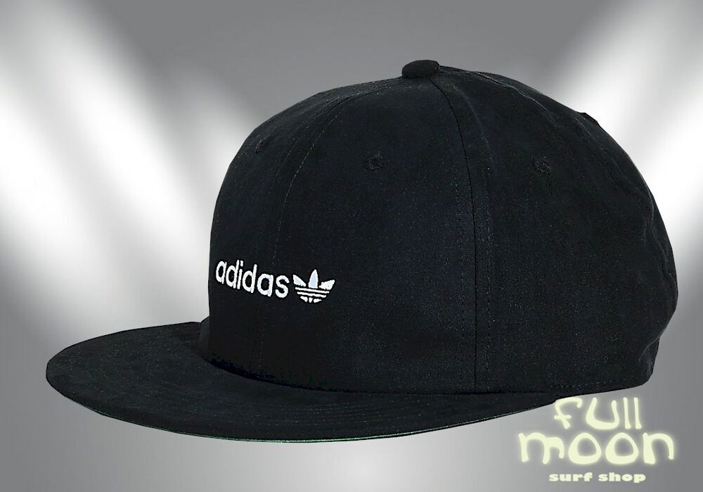Details about New Adidas Men s Relaxed Flat Rim Strapback Cap Hat f77f3423ae6