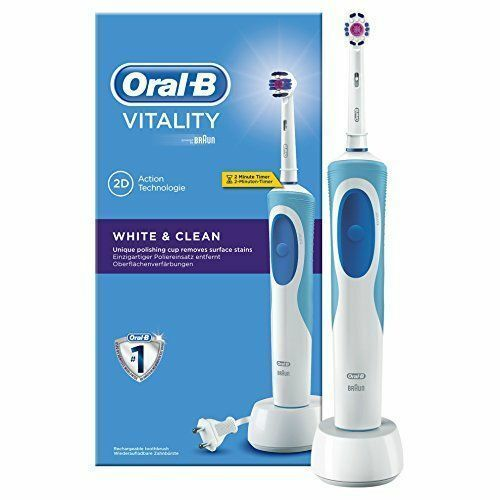 ORAL-B VITALITY 2D WHITE & CLEAN ELECTRIC RECHARGEABLE