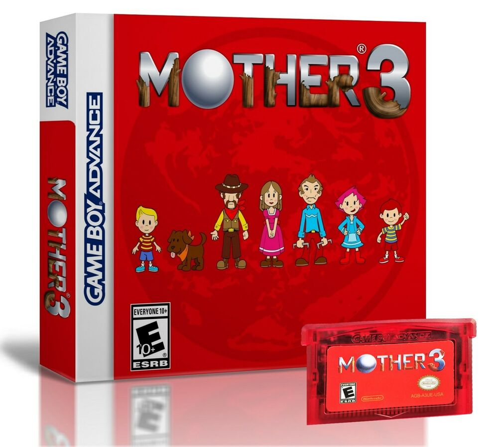 Mother 3 + Game With Case (Nintendo Game Boy Advance) GBA English Ver  Earthbound 4902370512991 | eBay