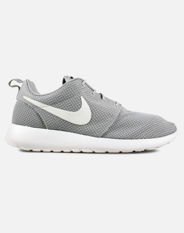 9d61765630ae2 Details about Nike Roshe One 1 Run Size 8 8.5 13 Wolf Grey White Black  Silver yeezy 511881-023