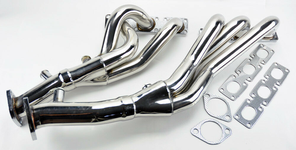 Performance Exhaust Manifold Headers Fits Bmw E46 E39 Z4 01 06 2 5l 2 8l 3 0l L6 Ebay
