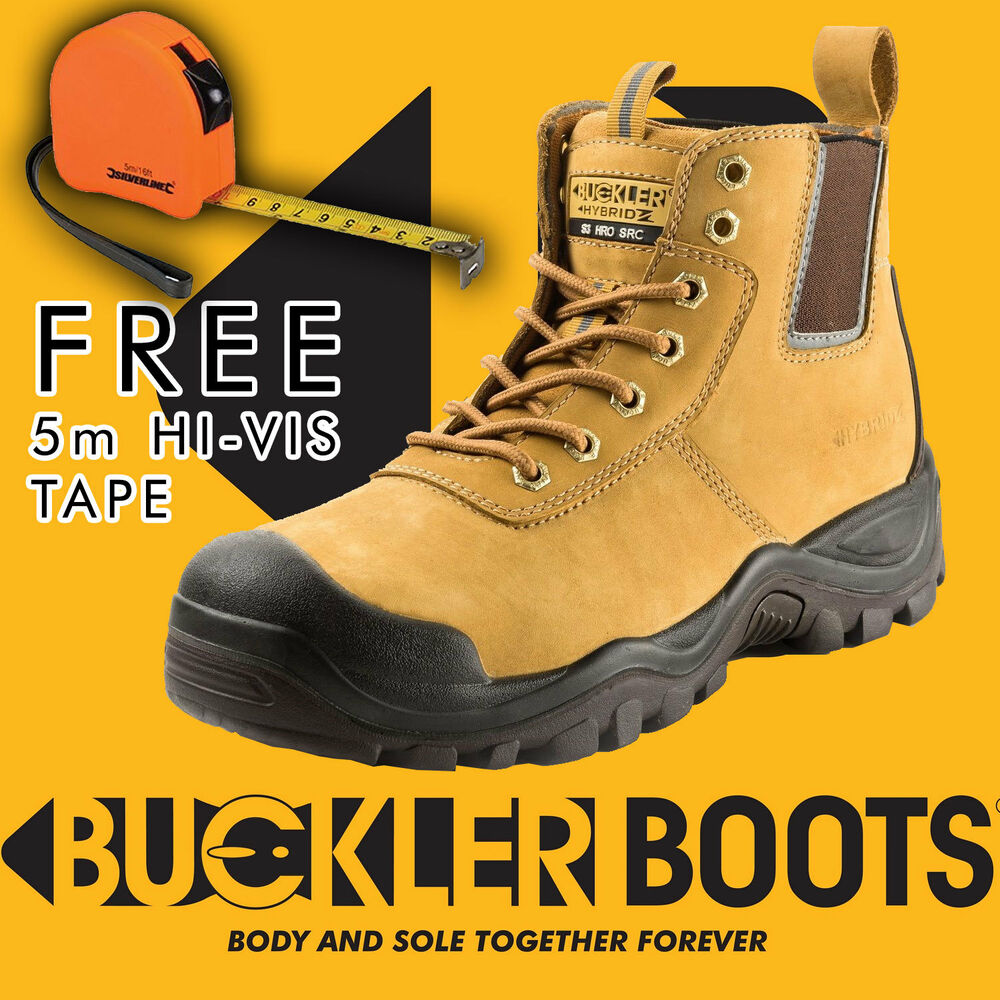 Rock Fall Pro Man Orlando Tc35c S3 Honey Nubuck Steel Toe Cap Work Safety Boots Men's Shoes