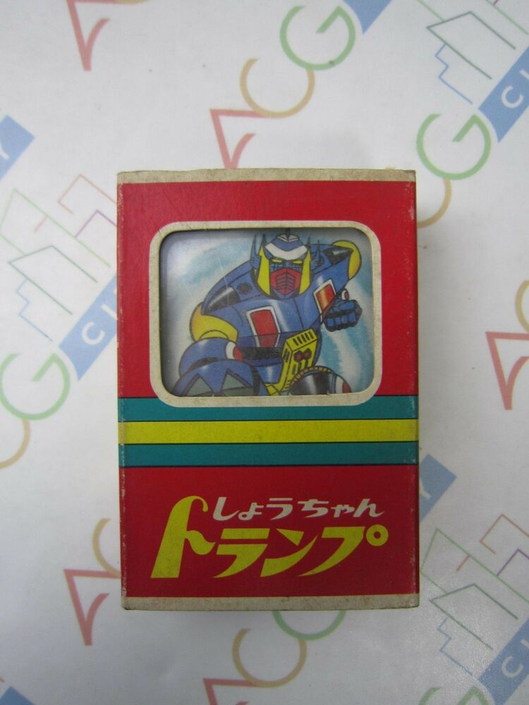 39bffbc652 Details about Anime Magne Robo Robot Gakeen Trump Poker Playing Cards Japan  Vintage 1970s