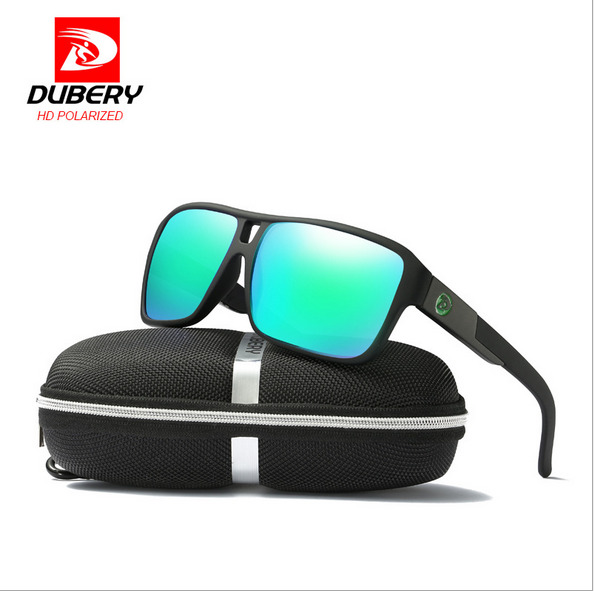 eaefc8523527 DUBERY 10 Colors Men Sport Polarized Sunglasses Outdoor Driving Travel  Goggles