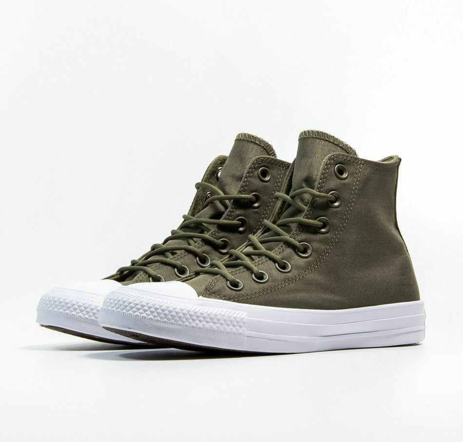 aac14a167c24 Details about CONVERSE CHUCK TAYLOR ALL STAR HI CANVAS MEN SHOES OLIVE  157518C SIZE 8.5 NEW