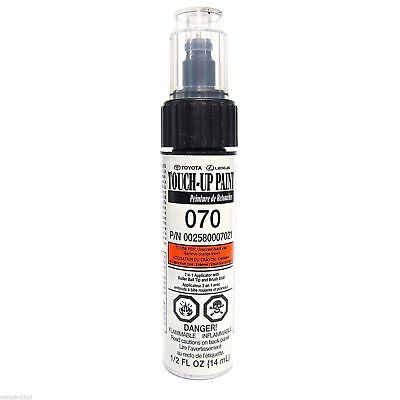 Genuine Toyota 00258-00070-21 White Touch-Up Paint Pen Blizzard Pearl 070 New