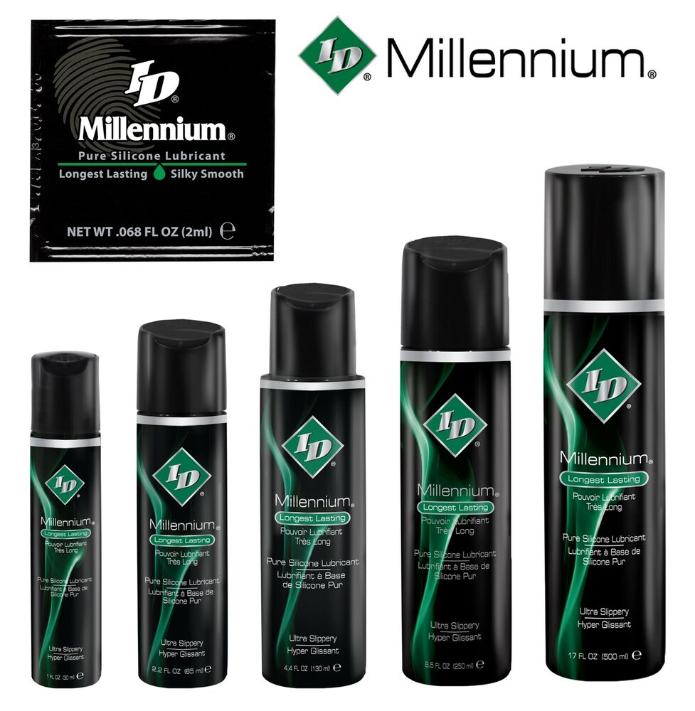 Id Millennium Lube Silicone Based Lubricant Personal Sex -7342