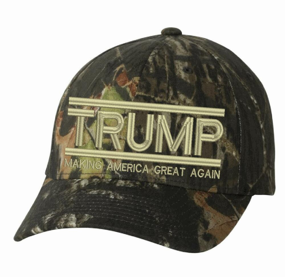 d24d5982937 Details about Make America Great Again Hat - Donald Trump 2020 Flex Fit  6999 Mossy Oak Hat