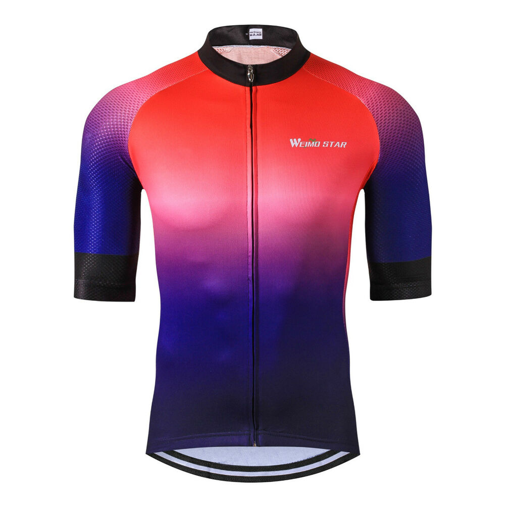 30fae4357 Details about Men s Cycling Jerseys Bicycle Short Sleeve Shirt Cycling  Clothing Bike Top YJ53