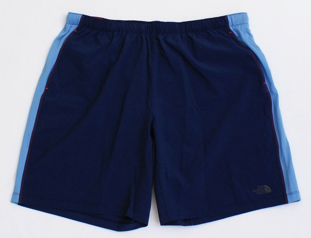 7867b220d The North Face Blue Ampere Dual Layered Lined Athletic Running ...