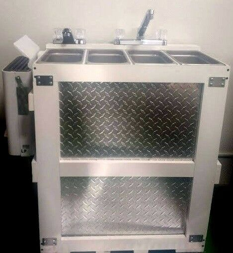 Hot Water Standard Portable Propane 3 4 Compartment