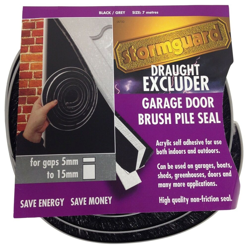 Stormguard Garage Door Brush Pile Draught Excluder Seal For Gaps 5