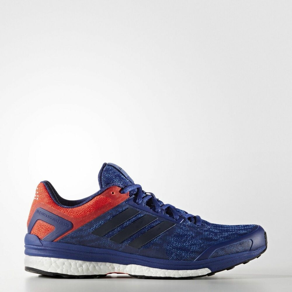 db7feb648 Details about New ADIDAS SuperNova SEQUENCE BOOST 9 AQ3535 Mens SZ 8 or 8.5  USA Blue Red