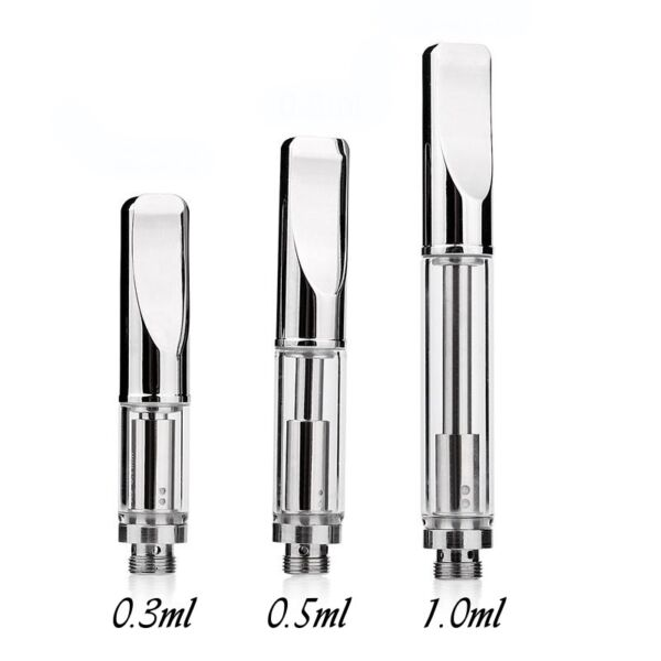 A3 Stainless Steel Metal Oil Cartridges Tanks Pyrex Glass Dual Coil Wholesale