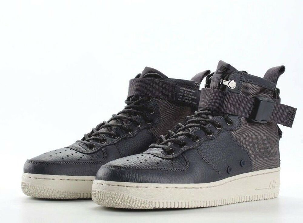 best authentic 342e7 3b385 Nike SF AF1 Mid Special Force Air Force Shoe Dark Grey 917753 004 Mens  Sizes NEW   eBay