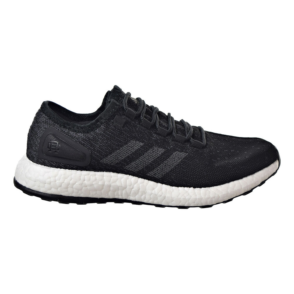 f6d0e42648877 Details about Adidas Pureboost Reigning Champ Men s Running Shoes Core  Black Grey White CG5331