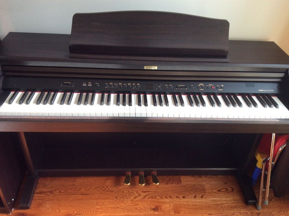 kawai ce200 digital piano used excellent condition single owner no pets 889406079793 ebay. Black Bedroom Furniture Sets. Home Design Ideas
