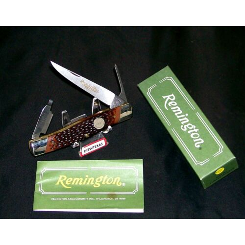 remington-r7-knife-turkey-hunters-trapper-winscribed-blade-wpackaging-papers