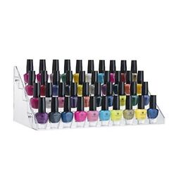 Kyпить 60 Bottles Acrylic Nail Polish Display Stand and Organizer, 5 Steps, Holds Up  на еВаy.соm