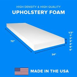 Kyпить High Density Upholstery Foam Seat Couch Cushion Replacement - 24