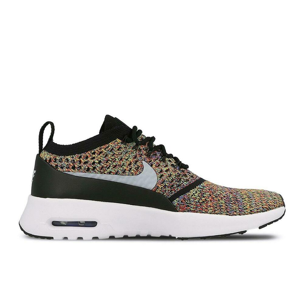 5382f866 Details about Womens NIKE AIR MAX THEA ULTRA FLYKNIT Trainers 881175 600